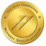 The Joint Commission Seal of National Quality Approval.