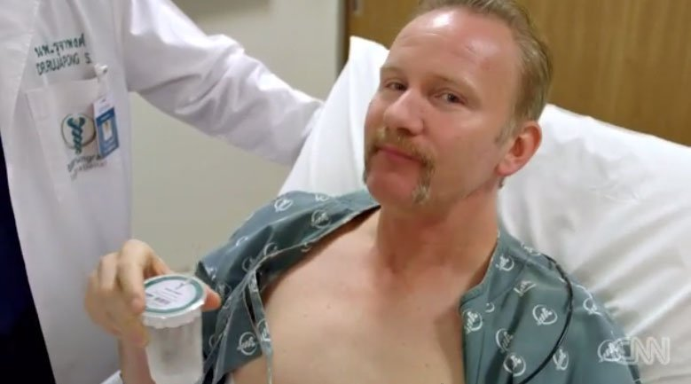 "Morgan Spurlock plays the part of patient at Bumrungrad Hospital for an episode of CNN's ""Inside Man"" on medical tourism."